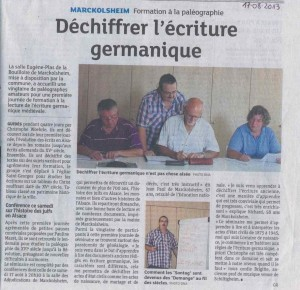 ArticleDNA du 17.08.2013
